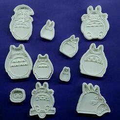 135809179_199355418534070_2191848849229144118_n.jpg Télécharger fichier STL Le coupe-biscuits Totoro de mon voisin • Modèle imprimable en 3D, Cortantesparagalletitas