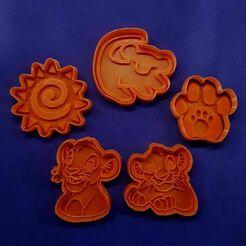 137528917_410551353488463_8533695288276389312_n.jpg Download STL file King Leon Cookie Cutter • 3D print model, Cortantesparagalletitas