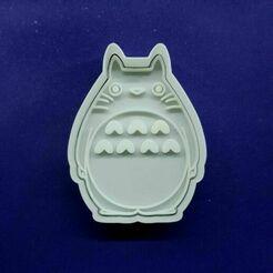 135790966_226684678990591_2379941523331466618_n.jpg Télécharger fichier STL Coupe-biscuits Totoro • Design imprimable en 3D, Cortantesparagalletitas