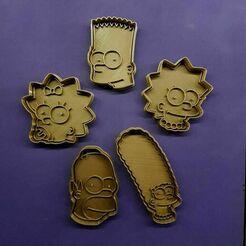 135736558_476256847106502_2527578180805738568_n.jpg Télécharger fichier STL Coupe-biscuits des Simpsons • Design à imprimer en 3D, Cortantesparagalletitas