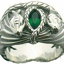 619G00-s3AL._AC_UY395_.jpg Download OBJ file Barahir's ring, Lord of the Rings. • 3D printable model, Geraldart