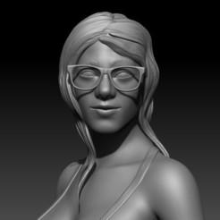 118353011_3395220330538819_1275302665356638503_n.jpg Download STL file Mia Khalifa • Object to 3D print, Geraldart