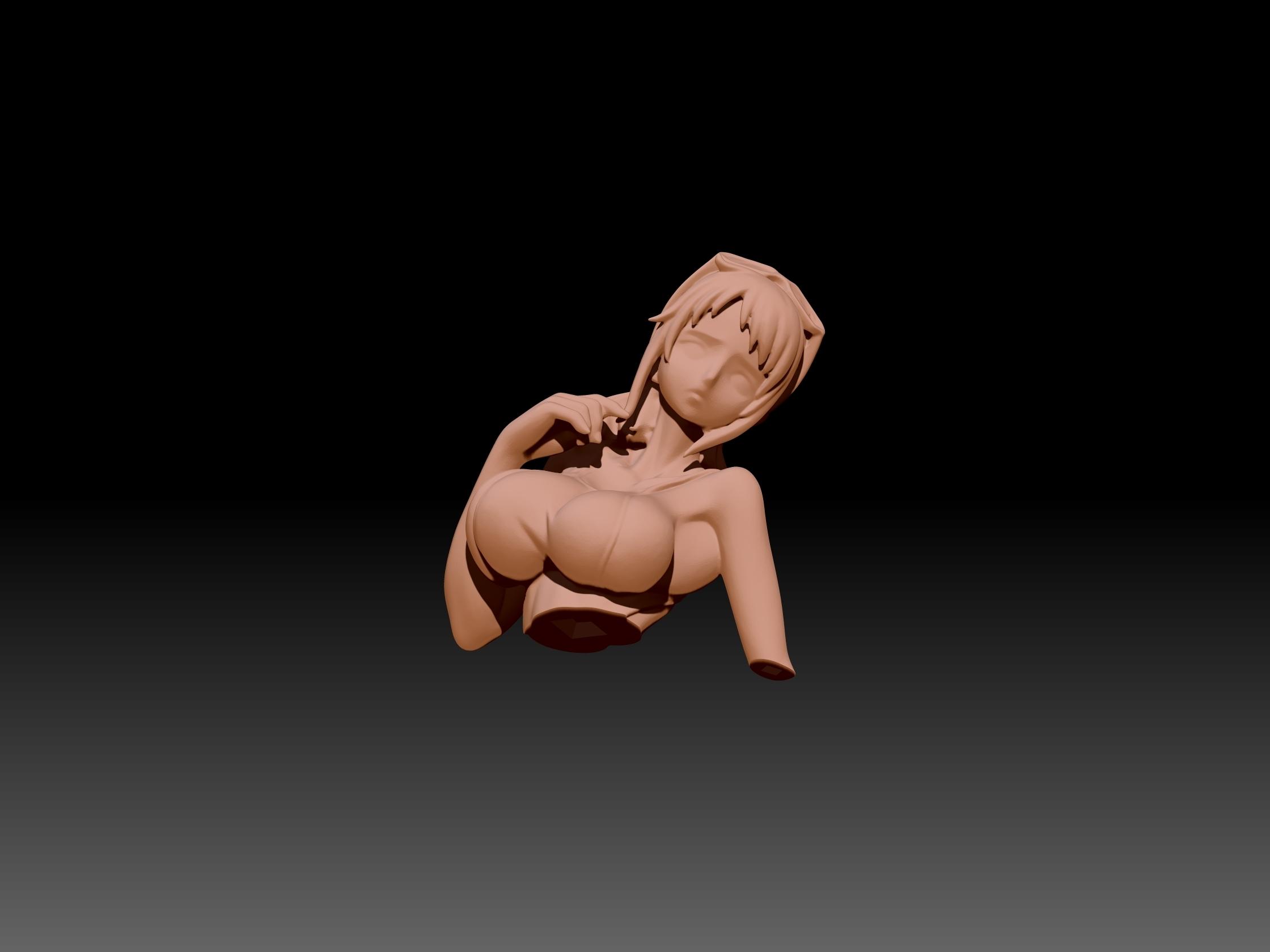 ZBrush Document3.jpg Download STL file one piece tashigi • Design to 3D print, Geraldart