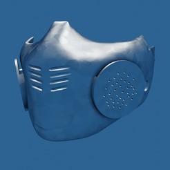 Descargar STL Máscara, 4kDesignStudio