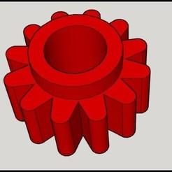 Download STL file Gearbox Minipymer phillips HR1116 • 3D printer design, csaautfv