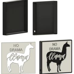 llama light.png Télécharger fichier STL gratuit Lumière de lama • Objet pour imprimante 3D, ced666