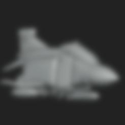 Phantom_FGR2 PRINT SET.stl Download STL file Toy plane - McDonnell Douglas F-4M (RAF FGR.2) • 3D print design, Bandido