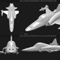 Descargar modelo 3D Avión de juguete - Northorp F-20 Tigershark, Bandido