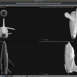 Descargar archivos 3D gratis Avión de juguete - LTV F-8 Crusader, Bandido