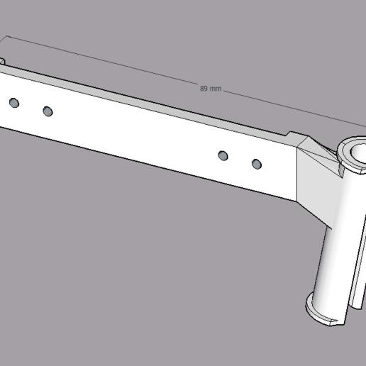 Télécharger fichier STL gratuit Anet A8 (stock) câbles d'extrudeuse, décharge de traction • Modèle pour impression 3D, Bandido