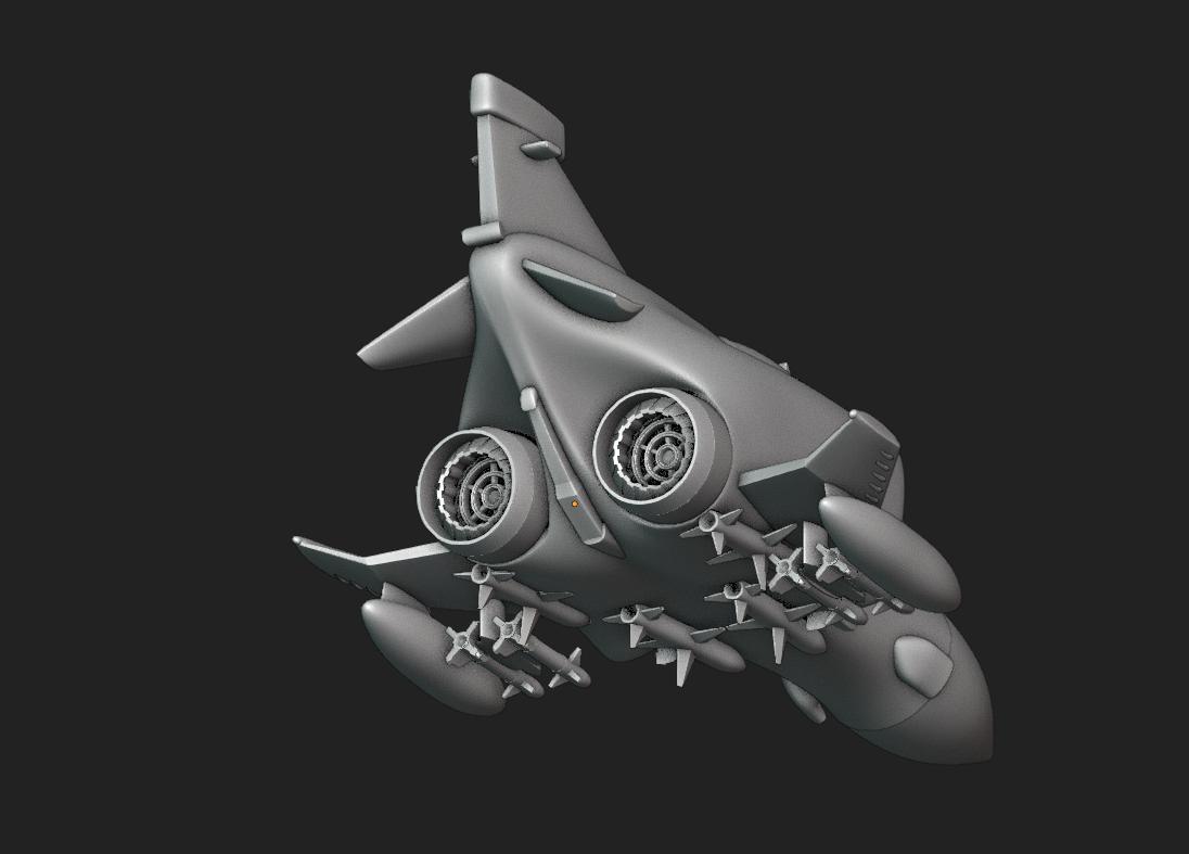 Screenshot from 2020-10-17 21-32-05.png Download STL file Toy plane - McDonnell Douglas F-4M (RAF FGR.2) • 3D print design, Bandido