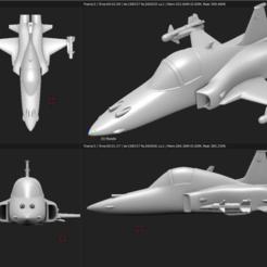 Descargar modelos 3D Avión de juguete - Northorp F-5EM Tiger II, Bandido