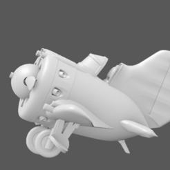Descargar archivo 3D Avión de juguete - Detallado Polikarpov I-16 Ishak, Bandido