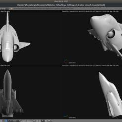 Descargar archivo 3D gratis Avión de juguete - Dassault Mirage III C, Bandido