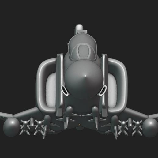 Screenshot from 2020-10-17 21-32-25.png Download STL file Toy plane - McDonnell Douglas F-4M (RAF FGR.2) • 3D print design, Bandido