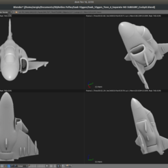 Screenshot_from_2020-02-16_22-55-46.png Download free STL file Toy plane - Saab Viggen • 3D print model, Bandido