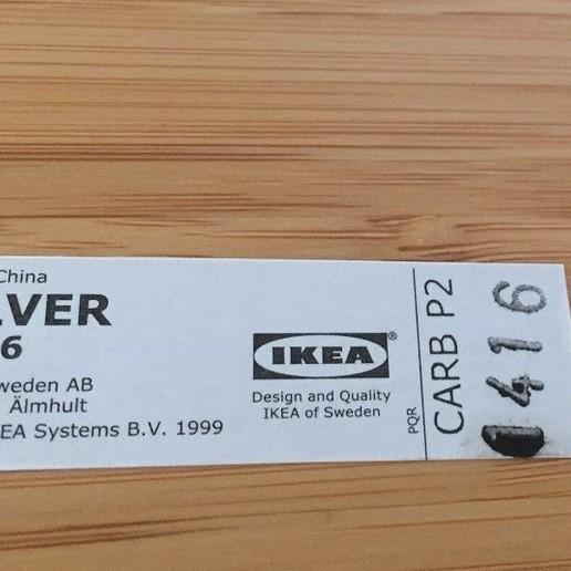 IMG_1595.JPG Télécharger fichier STL gratuit IKEA HILVER porte-câbles pour table/bureau • Plan imprimable en 3D, Bandido