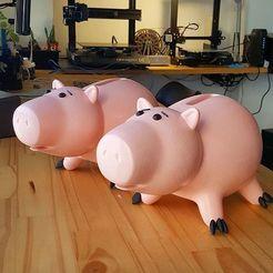 108404926_299859594467125_1377891962518367964_n.jpg Download STL file Hamm Pig Toy Story_Pig • 3D print object, impresion3dstudio