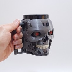 20200819_140441.jpg Download STL file Children's Mug - T800 Terminator • 3D print template, impresion3dstudio