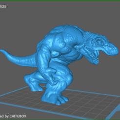 Download STL file Tymanosaurus, celtic_hustla