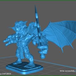 screenShot_HQ_Gargoyle_recreated3.png Télécharger fichier STL Recréation de la gargouille HeroQuest • Design pour impression 3D, celtic_hustla