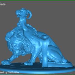 screenShot_ChimeraBase.png Download STL file Chimera • 3D printing object, celtic_hustla