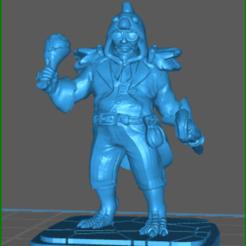 Download 3D printing designs Colonel Chicken, celtic_hustla