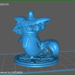 Download 3D printer designs Ghost Nappa, celtic_hustla