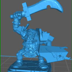 Download free 3D printer files Orc Scimatar Rework, celtic_hustla