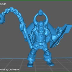 Download 3D printer templates Orc Smasher, celtic_hustla
