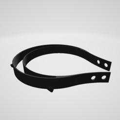 Descargar modelo 3D gratis máscara Covid 19, gosdcuhiu