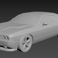 1.jpg Download STL file Dodge Challenger 2008 • 3D printing model, Andrey_Bezrodny