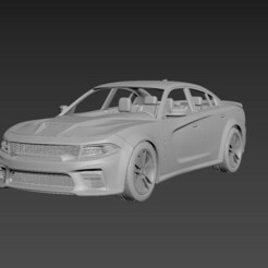 1.jpg Download STL file Dodge Charger SRT 2020  • 3D printer object, Andrey_Bezrodny