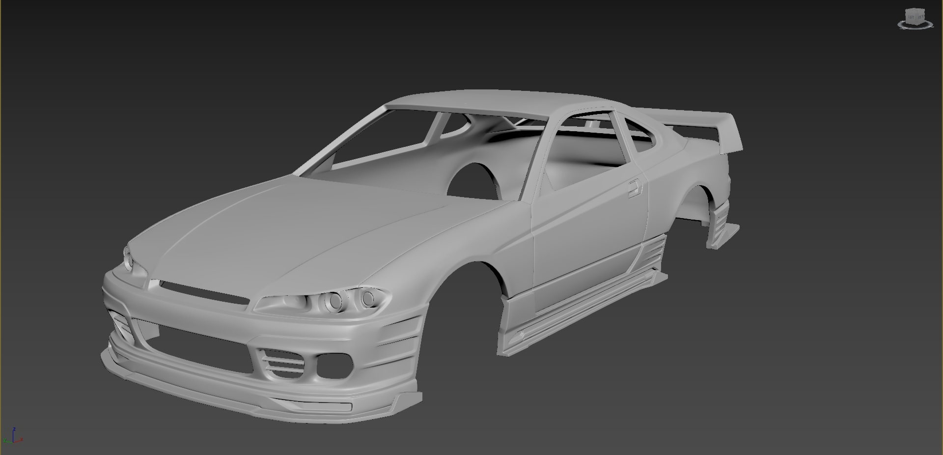 1.jpg Download STL file Nissan Silvia S15 2001 Tuning  Body For Print • Object to 3D print, Andrey_Bezrodny