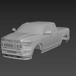 1.jpg Download STL file Dodge Ram 2500 2020 Body For Print • 3D printer object, Andrey_Bezrodny