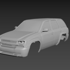 1.jpg Download STL file Chevrolet TrailBlaizer 2007 Body For Print • 3D print model, Andrey_Bezrodny