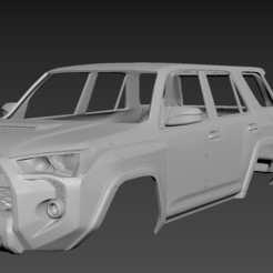 1.jpg Download STL file Toyota 4Runner 5 Gen • 3D printing object, Andrey_Bezrodny