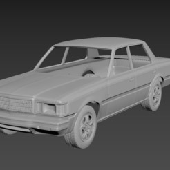 1.jpg Download STL file Toyota Crown S110 Super Saloon 1982 Body For Print • 3D printable model, Andrey_Bezrodny