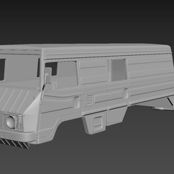 1.jpg Download STL file Pinzgauer 712K 6X6 Body For Print • 3D printing template, Andrey_Bezrodny