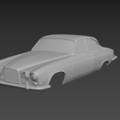 1.jpg Download STL file Jaguar MkX Body For Print • 3D print model, Andrey_Bezrodny