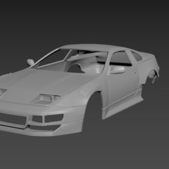 1.jpg Download STL file Nissan 300ZX Tuning Body For Print • 3D printing template, Andrey_Bezrodny