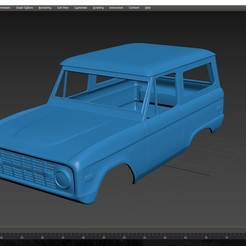 Download STL file Ford Bronco 1974 Body for print  • 3D printable template, Andrey_Bezrodny