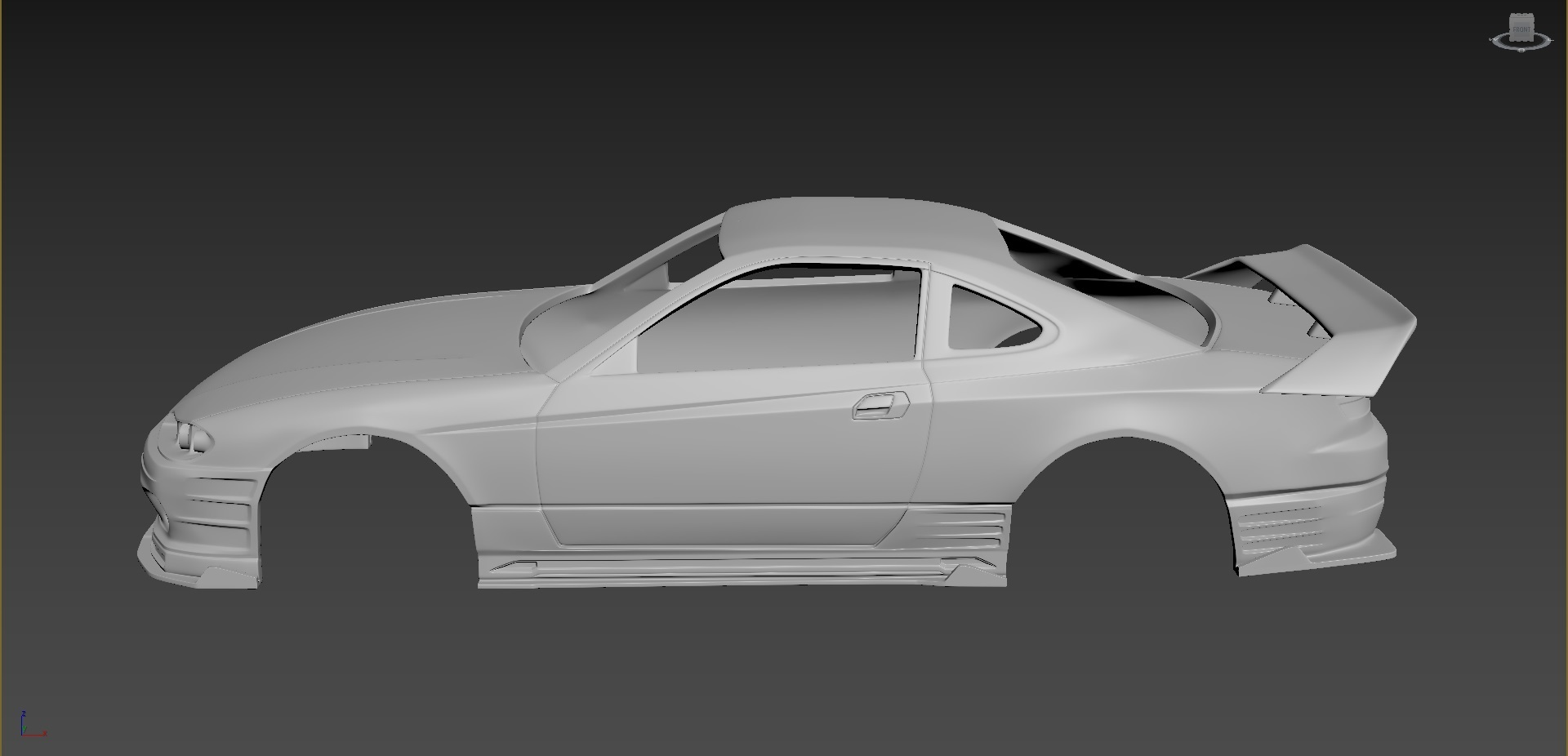 2.jpg Download STL file Nissan Silvia S15 2001 Tuning  Body For Print • Object to 3D print, Andrey_Bezrodny