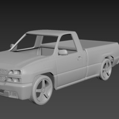 1.jpg Download STL file Chevrolet Silverado 2006 Body For Print • 3D print object, Andrey_Bezrodny
