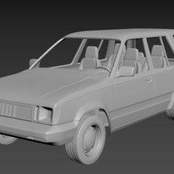 Download 3D printing files Toyota Tercel 4wd 1986  Body For Print, Andrey_Bezrodny