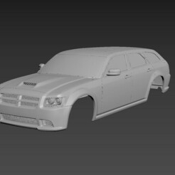 1.jpg Download STL file Dodge Magnum 2008 SRT8 Body For Print • 3D printable template, Andrey_Bezrodny
