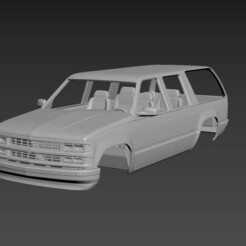 4.jpg Download STL file Chevrolet Suburban 1999 Body For Print • 3D printing template, Andrey_Bezrodny