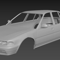 Download 3D printer files Honda Acord 1989  Body For Print, Andrey_Bezrodny
