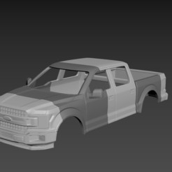 Download 3D printer templates Ford F-150 2020 in 1:10 , 1:16 , 1:25 Scale, Andrey_Bezrodny
