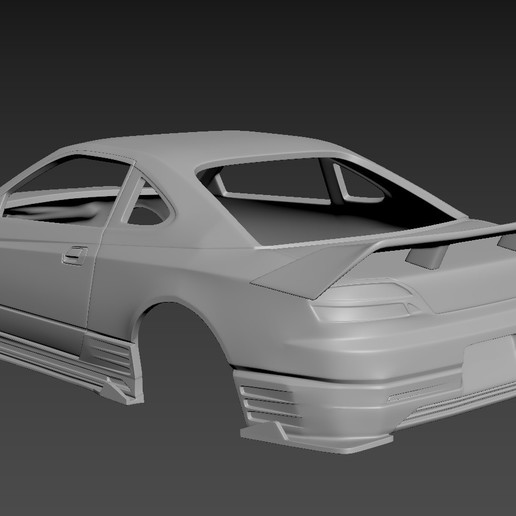 3.jpg Download STL file Nissan Silvia S15 2001 Tuning  Body For Print • Object to 3D print, Andrey_Bezrodny
